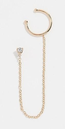 09bb7642f 14k Gold Diamond Stud With .