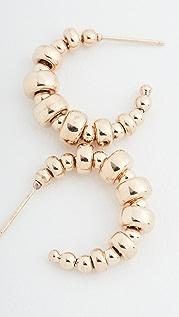 Zoe Chicco 14k Gold Small Thin Hoop Earrings