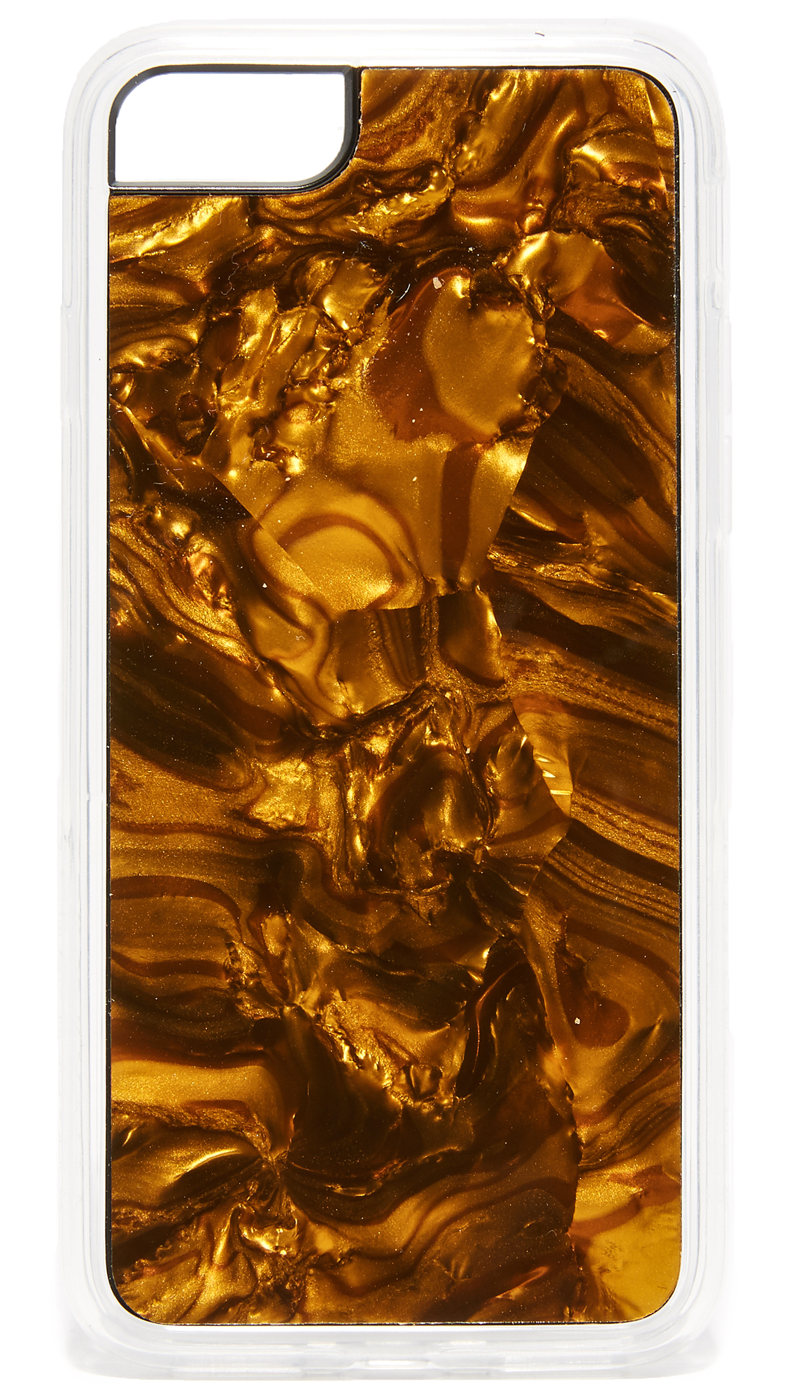 Zero Gravity: Tiger's Eye iPhone 7 Case