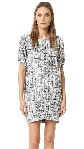 Zero + Maria Cornejo Ori Tunic / Dress - Snow/Black