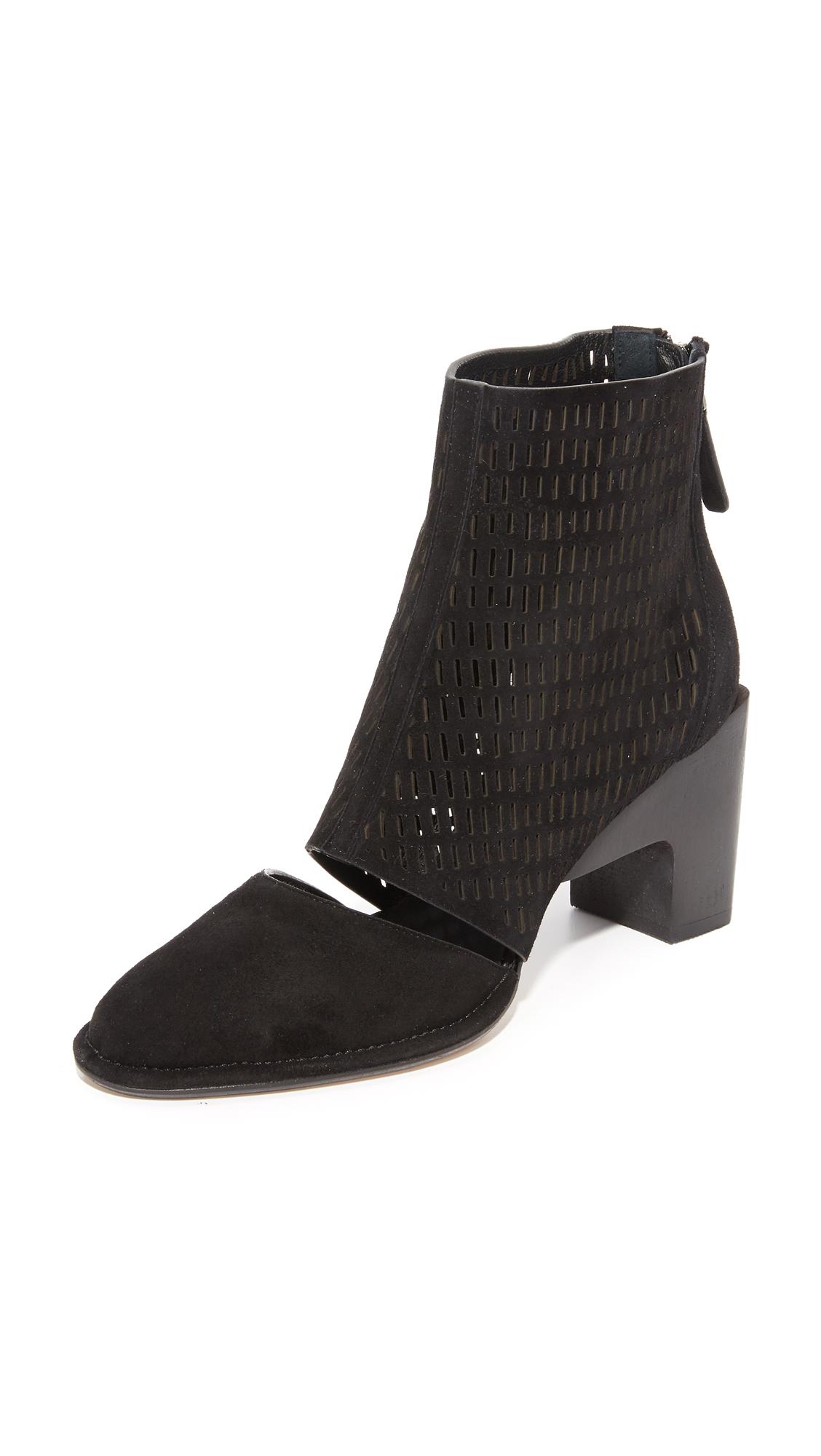 Zero + Maria Cornejo Goa Booties - Black