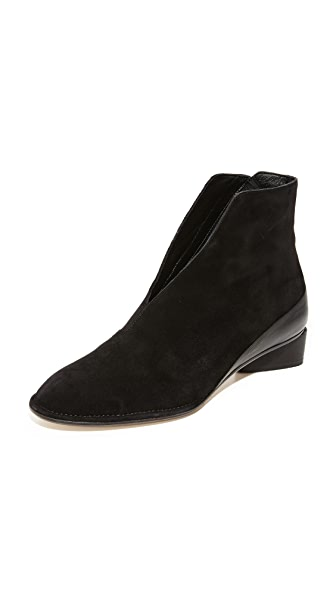 Zero + Maria Cornejo Belle Ankle Booties - Black