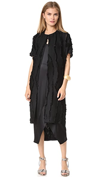 Zero + Maria Cornejo Koy Coat - Black