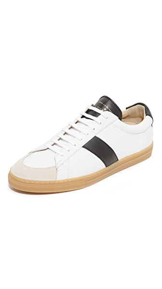 Zespa ZSP 4 RC Striped Leather Sneakers