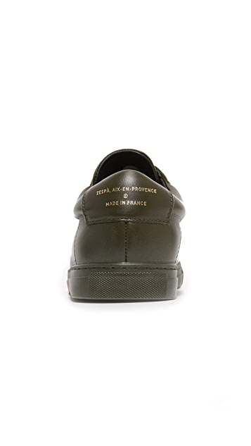 Zespa ZSP 4 Leather Sneakers
