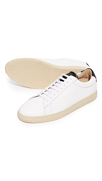 Zespa ZSP 4 APLA Leather Sneakers
