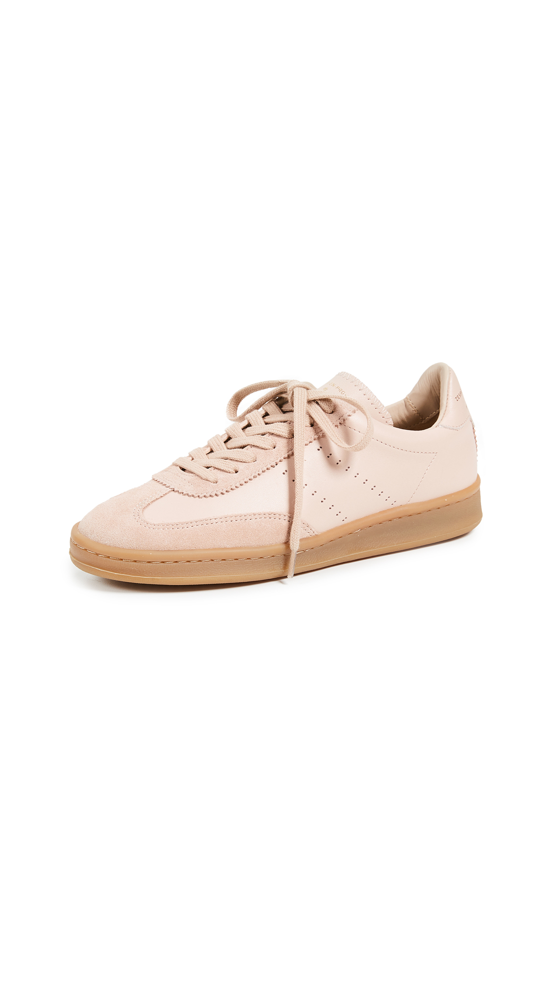 Zespa Lace Up Sneakers In Nude