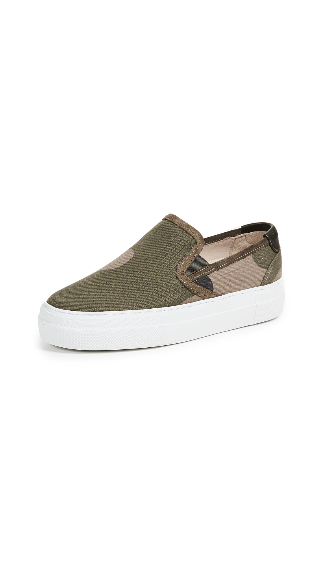 Zespa Slipon Camo Sneakers - Camo/White