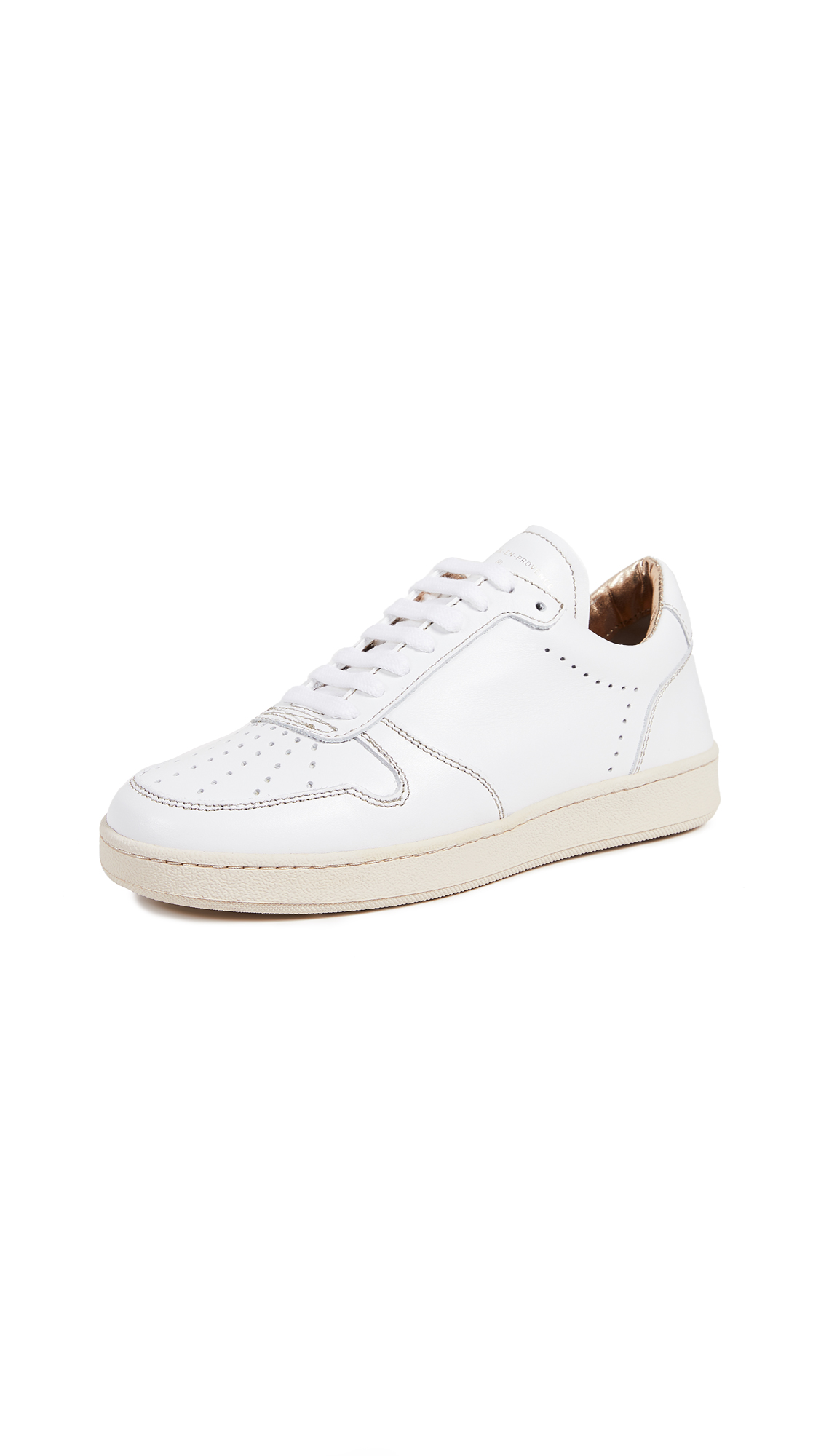 Zespa Nappa Pique Lace Up Sneakers