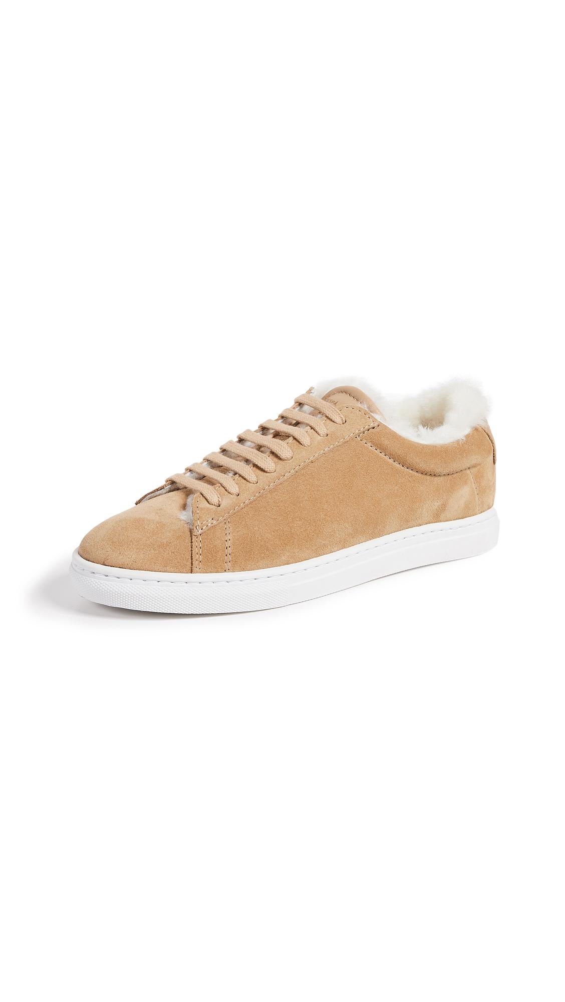 Zespa Suede Biscuit Shearling Sneakers