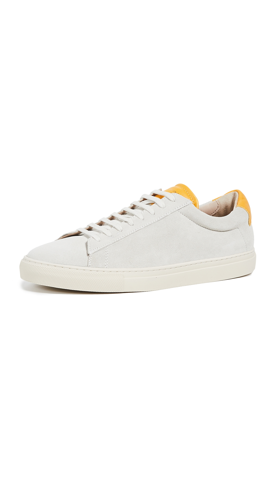 Zespà SUEDE LOW TOP SNEAKERS
