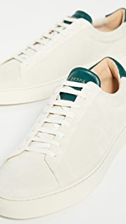 Zespa ZSP4 Suede Low Top Sneakers