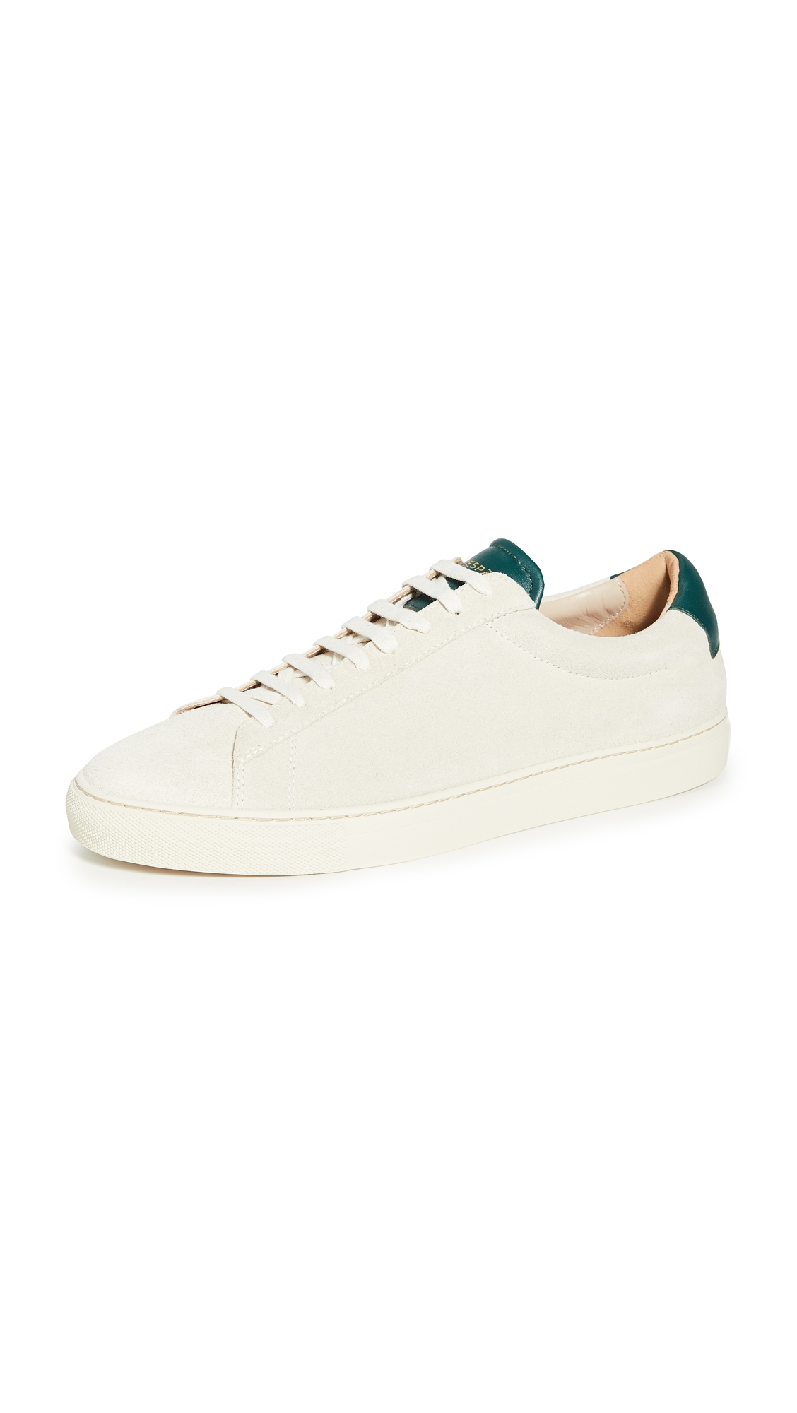 Zespà ZSP4 SUEDE LOW TOP SNEAKERS