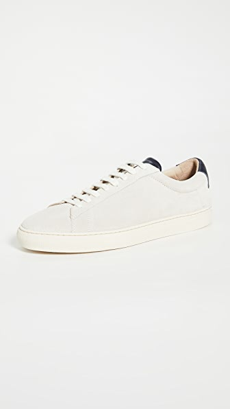 Zespa ZSP4 High Apla Suede Sneakers