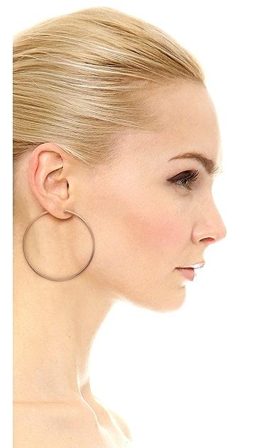 Jennifer Zeuner Jewelry Small Hoop Earrings
