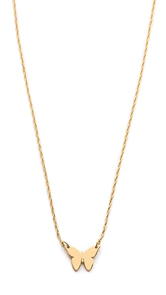 Jennifer Zeuner Jewelry Mariah Mini Necklace - Gold