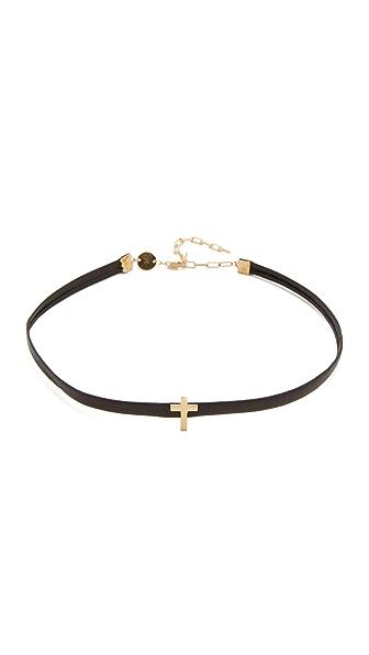 Jennifer Zeuner Jewelry Ivy Theresa Choker Necklace