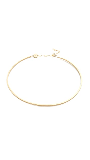 Jennifer Zeuner Jewelry 2MM Kerry Choker Necklace
