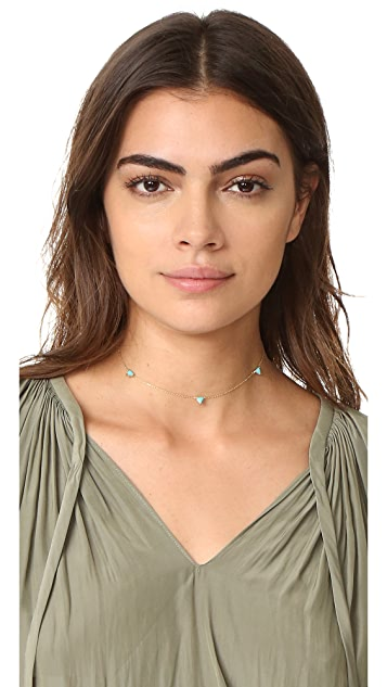 Jennifer Zeuner Jewelry Koi Choker Necklace