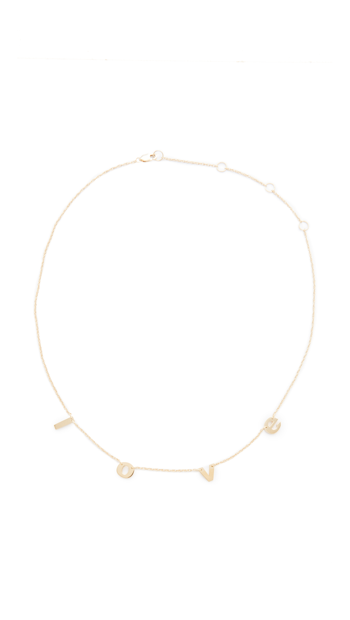 Jennifer Zeuner Jewelry Parker Necklace - Gold