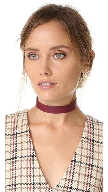 Jennifer Zeuner Jewelry Ivy Whit Choker Necklace