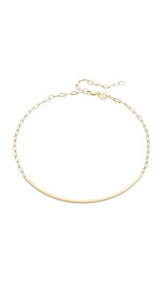 Jennifer Zeuner Jewelry Cecelia Chain Choker Necklace - Gold