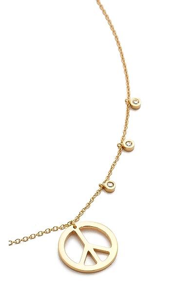 Jennifer Zeuner Jewelry Lou Chain Choker Necklace