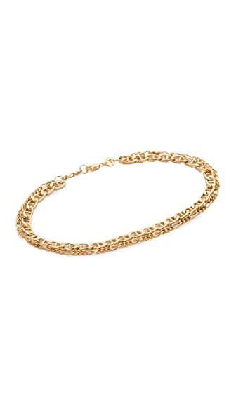 Jennifer Zeuner Jewelry Adina Chain Anklet at Shopbop