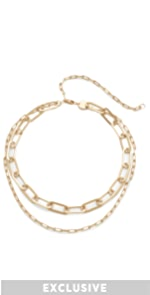 Mayfair Double Choker Necklace Jennifer Zeuner Jewelry