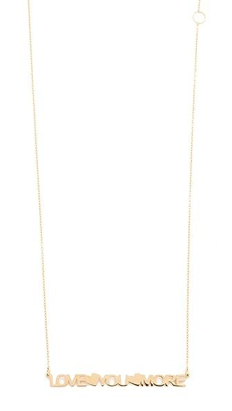 Jennifer Zeuner Jewelry Bella Necklace - Gold
