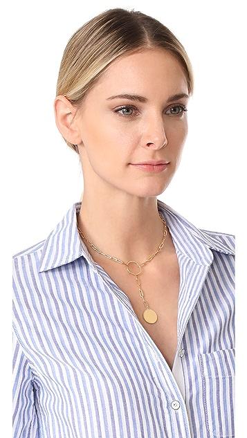 Jennifer Zeuner Jewelry Marla Lariat Necklace