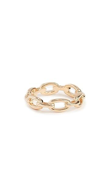 Jennifer Zeuner Jewelry Carmine Triple Ring