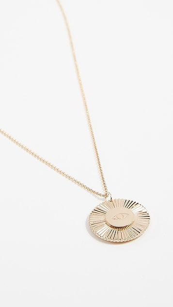 Jennifer Zeuner Jewelry Iris Santorini Reversible Necklace