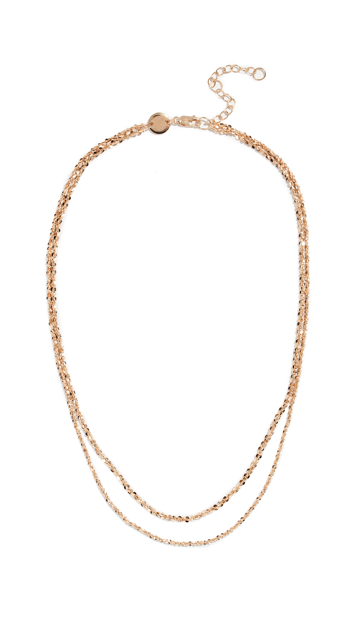 JENNIFER ZEUNER JEWELRY Wes Necklace in Yellow Gold
