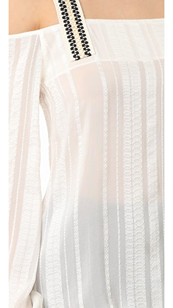 ZEUS+DIONE Lysia Silk Blouse