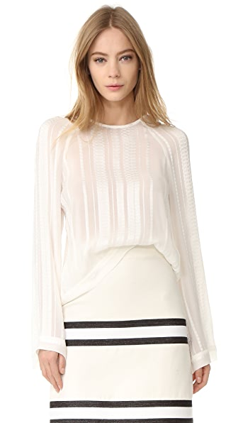 ZEUS+DIONE Melissa Cropped Blouse