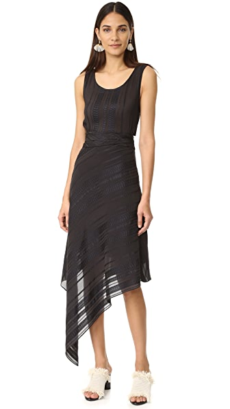 ZEUS+DIONE Flora Assymetrical Dress