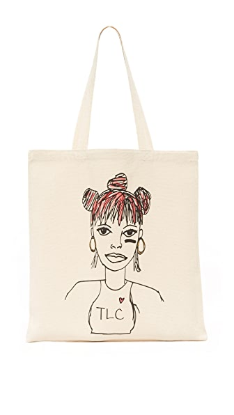 Zhuu Left Eye Lisa Tote
