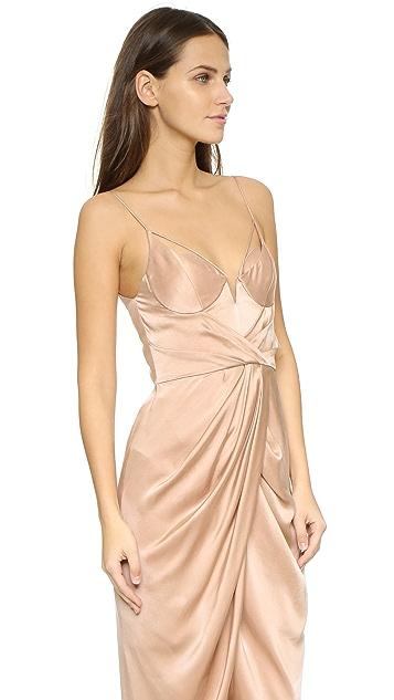 Zimmermann Sueded Silk Long Dress
