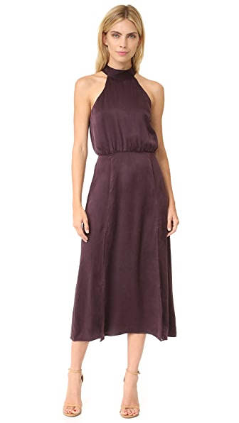 Zimmermann Sueded Picnic Dress - Burgundy