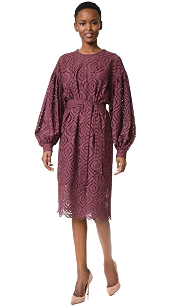 Zimmermann Karmic Embroidered Dress