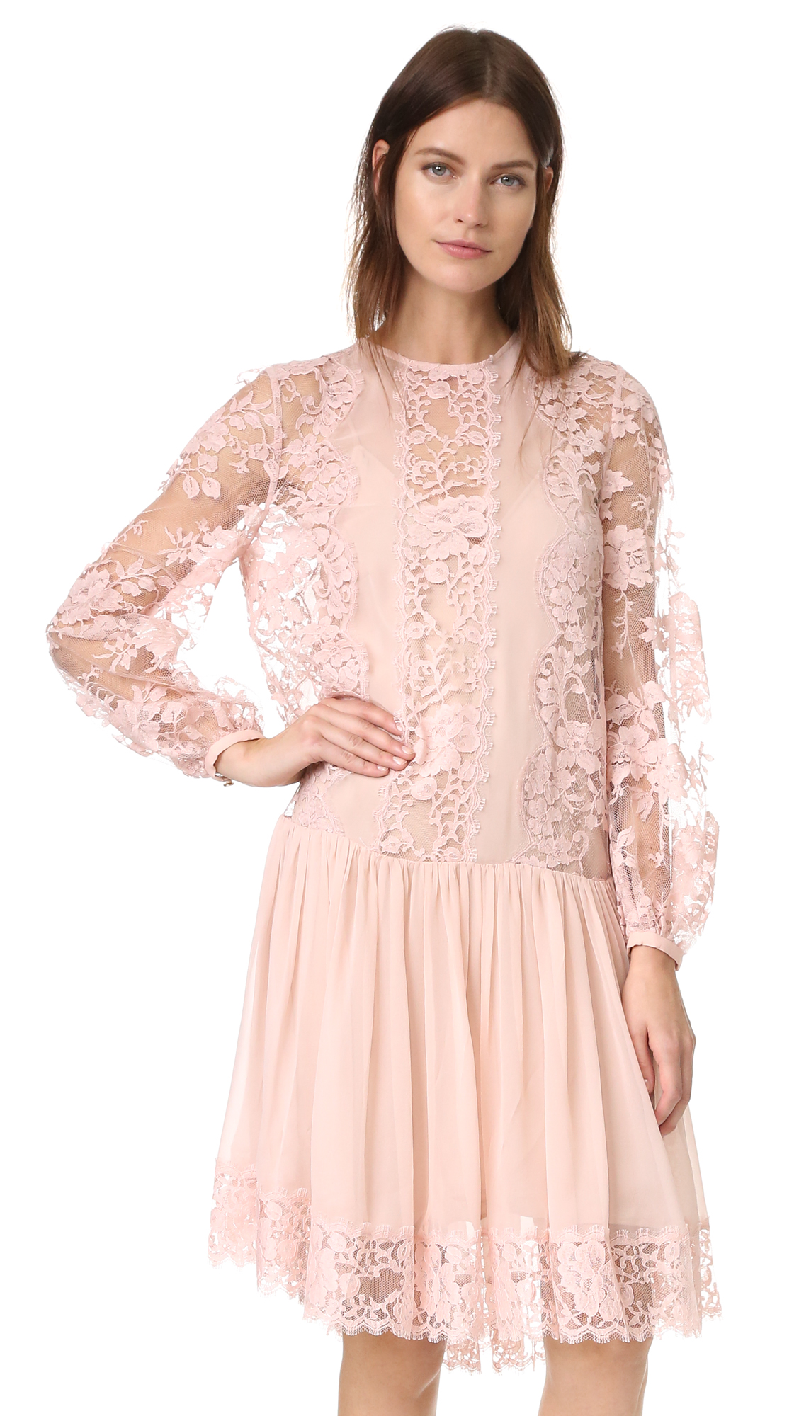 zimmermann female  zimmermann karmic lace dress lily