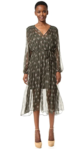Zimmermann Karmic Stamp Smock Dress