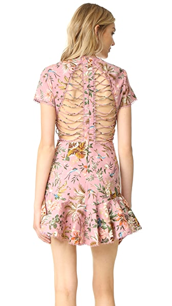 Zimmermann Tropicale Lattice Dress