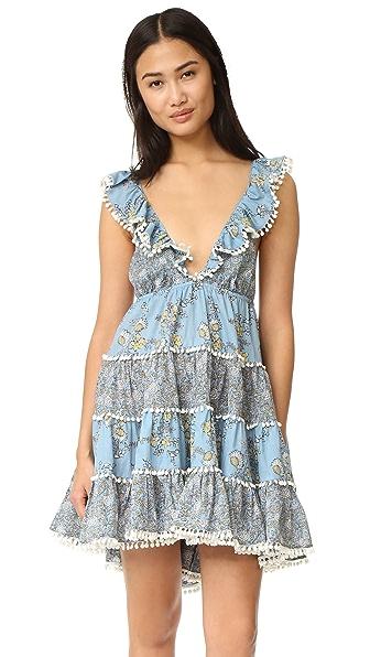 Zimmermann Caravan Tiered Sun Dress