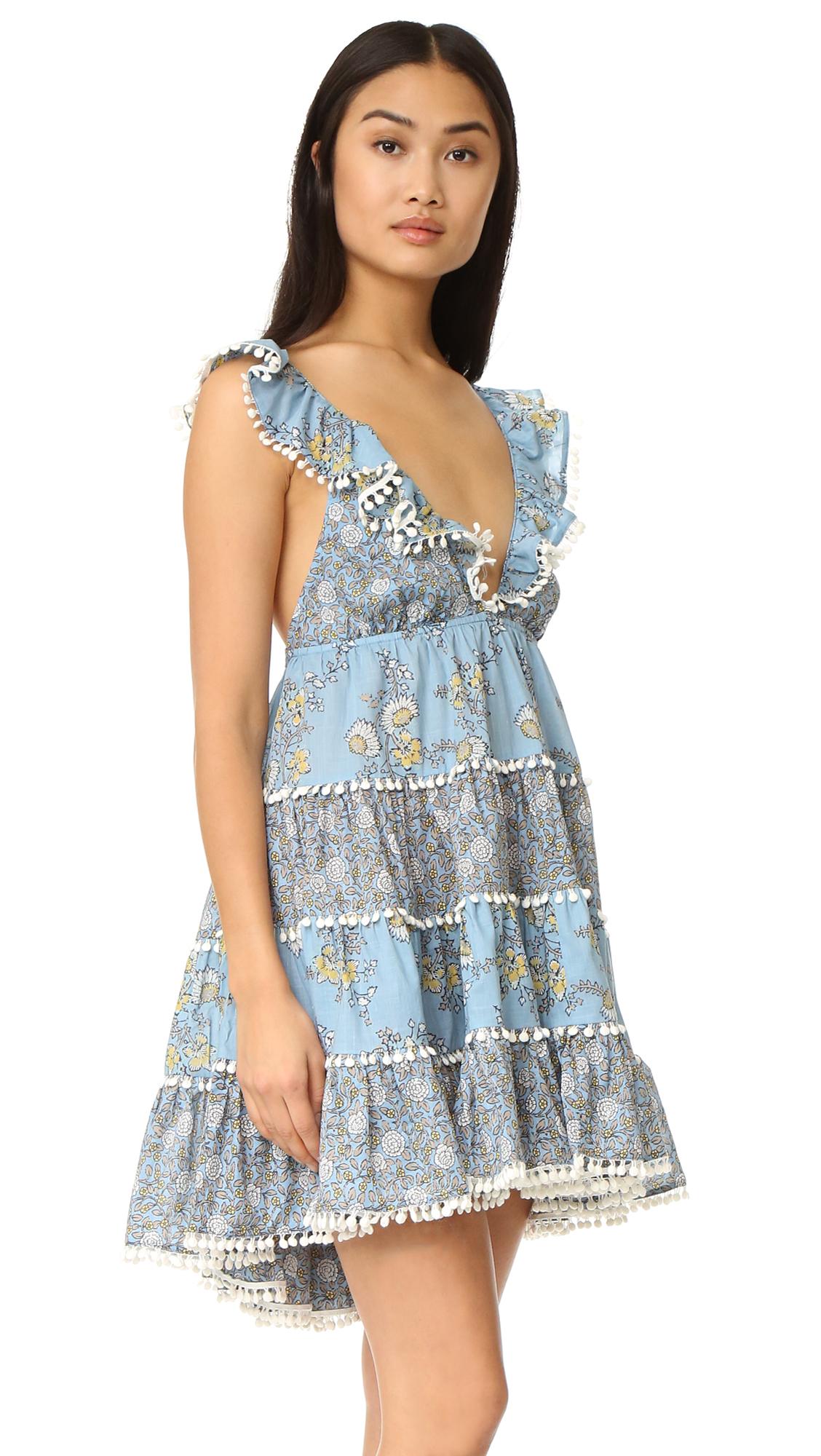3f3e0e46157 Zimmermann Caravan Tiered Sun Dress