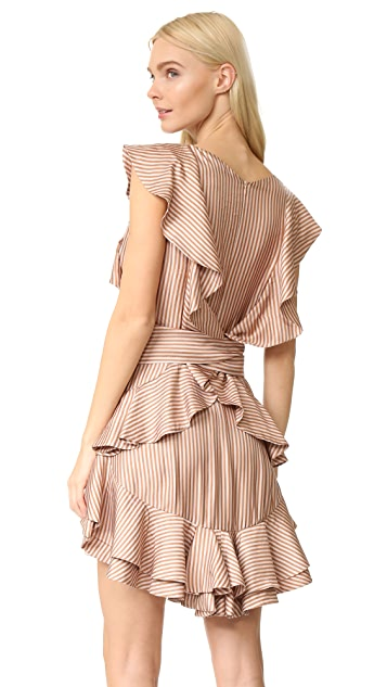 Zimmermann Winsome Flounce Dress
