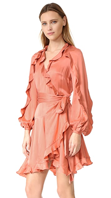 Zimmermann Winsome Flutter Robe Dress