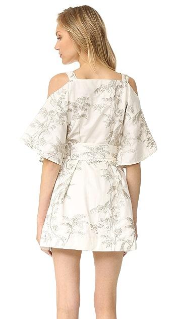 Zimmermann Winsome Shimmer Dress