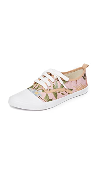 Zimmermann Print Sneakers - Pink Tropical